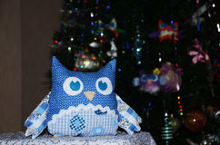 Toy owl Royalty Free Stock Images