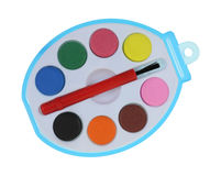 Toy Paint Set Royalty Free Stock Image