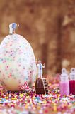Toy concept for Easter Royalty Free Stock Photos