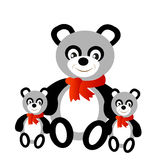 Toy panda bear Royalty Free Stock Images