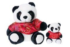Toy Pandas Stock Image