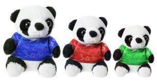 Toy Pandas Royalty Free Stock Photography