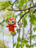 Toy parrot Royalty Free Stock Images