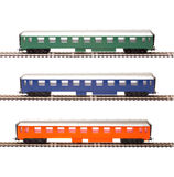 Toy passenger cars Royalty Free Stock Image