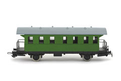 Toy passenger wagon Royalty Free Stock Image