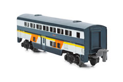 Toy passenger wagon Stock Images