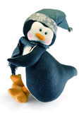 Toy penguin Royalty Free Stock Images