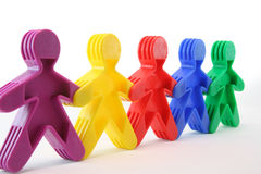 Toy People Stock Photography