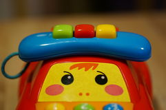 Toy phone Royalty Free Stock Photography