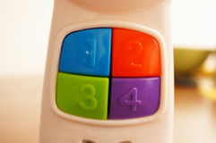 Toy phone Royalty Free Stock Images