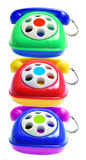 Toy Phones Royalty Free Stock Photography