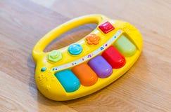 Toy piano Stock Photo