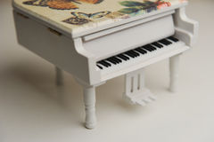 Toy piano Stock Image