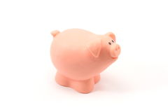 Toy Pig Royalty Free Stock Photography