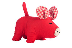 Toy pig isolated on white Stock Images