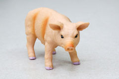 Toy pig Stock Photo
