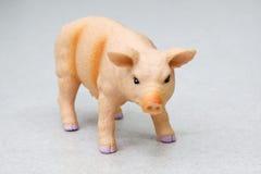 toy pig Stock Photo