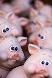 Toy piggies Royalty Free Stock Photos