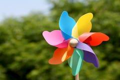 Toy pin wheel Stock Photo