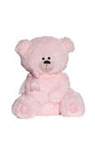 Toy- pink bear Royalty Free Stock Image