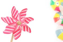 Toy pinwheel Royalty Free Stock Photography