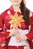 Toy pinwheel Royalty Free Stock Photography