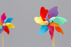 Toy pinwheel Stock Photography