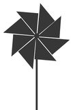 Toy pinwheel icon Royalty Free Stock Image