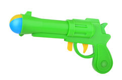 Toy pistol with ball Royalty Free Stock Image