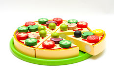 Toy pizza Royalty Free Stock Photo