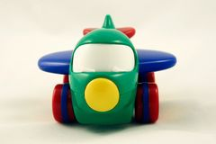 Toy plane Stock Image