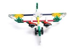 Toy Plane. On White Background Royalty Free Stock Photo