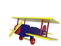 Toy Plane stock illustration