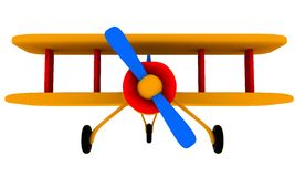 Toy plane Royalty Free Stock Photography