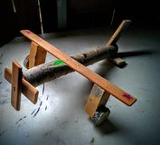 Toy plane stock photos