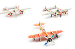 Toy planes Stock Photos
