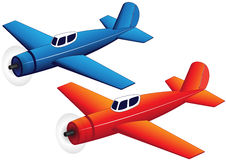 Toy planes Royalty Free Stock Photography