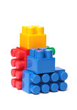 Toy Plastic Blocks stock foto's