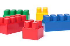 Toy Plastic Blocks stock afbeelding