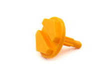 Toy plastic bolt Royalty Free Stock Images