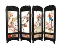 Toy Plastic Folding Screen Royalty Free Stock Images