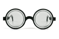 Toy plastic glasses Royalty Free Stock Photography