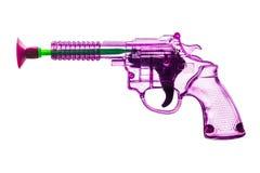 Toy plastic gun Stock Photo