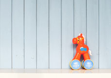 Toy plastic horse Royalty Free Stock Images