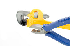Toy plastic tools Stock Images