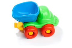 Toy plastic truck Royalty Free Stock Image