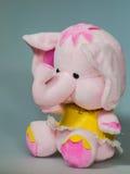 Toy plush elephant. A lovely toy plush elephant Royalty Free Stock Photo