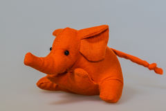 Toy plush elephant Stock Images