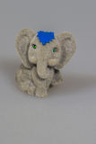 Toy plush elephants Royalty Free Stock Image