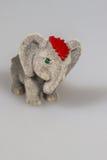 Toy plush elephants. A lovely toy plush elephant Stock Photos